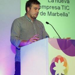 Antonio Cabello durante su intervención en la Smart Talk 3