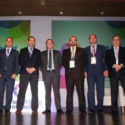 Smart-Talk1.-De-izq.-a-dcha._-Mario-Cortés,-Francisco-Ramírez,-Antonio-Requena,-Alberto-García,-Francisco-Javier-García-Vieira-y-Alfonso-Arbaiza
