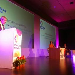 Víctor-Calvo-Sotelo,-Secretario-de-Estado-de-Telecomunicación-y-para-la-Sociedad-de-la-Información,-dando-el-discurso-inaugural