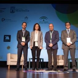 Smart-Talk-1---De-izq-a-dcha-Antonio-Cabello,-Alicia-Mancheño,-Juan-Carlos-Expósito-y-Javier-Porcuna